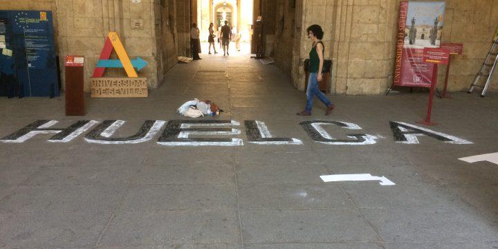Universidad de Sevilla – Represión frente al derecho a la huelga