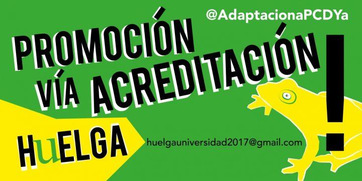 Traición Sindical al PDI precario de las Universidades Andaluzas