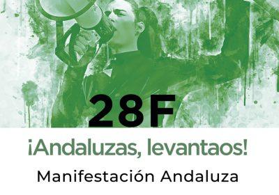 28F ¡ANDALUZAS, LEVANTAOS!