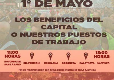 Primero de Mayo – La lucha está en la calle